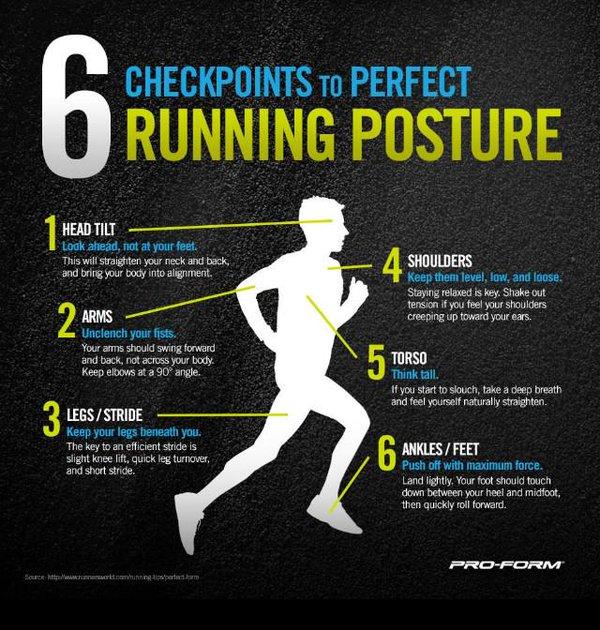 6 running posture