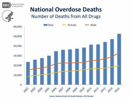 overdose deaths